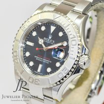 Rolex Yachtmaster Blue 116622 Stahl/Platin LC 100 B+P