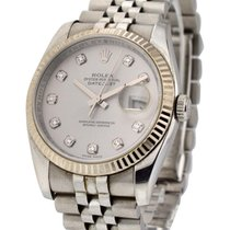 Rolex Used 116234_used_silver_dd Mens 36mm Datejust Ref 116234...