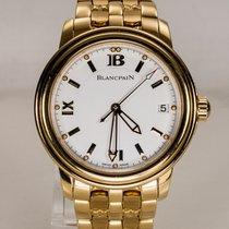 Blancpain Leman 2100 / Blancpain Goldband / Box / Papiere