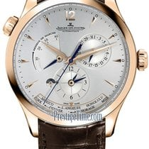 Jaeger-LeCoultre Rose gold Automatic Silver 39mm new Master Geographic