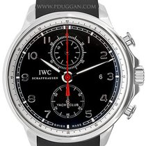 IWC stainless steel Portuguese Yacht Club Chronograph