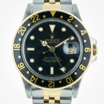 Rolex GMT Master, 16753, Stainless Steel and Gold Jubilee...