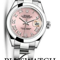 Rolex Oyster Perpetua Lady-Datejust 28mm Pink Dial