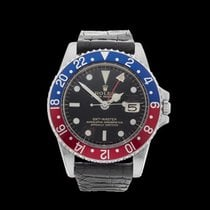 Rolex GMT-Master Gilt Gloss Pepsi Stainless Steel Gents 1675 -...