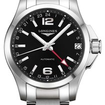 Longines Conquest Steel 41mm Black United States of America, New York, Airmont