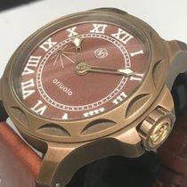 Ennebi ORIUOLO BRONZO 9665 ENGRAVED MOVEMENT SWISS ITALIAN...