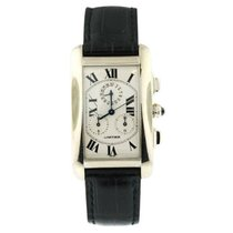 Cartier Tank Américaine White gold White United States of America, New York, NY