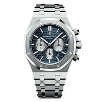 Audemars Piguet Royal Oak Chronograph Steel Blue Dial 41mm