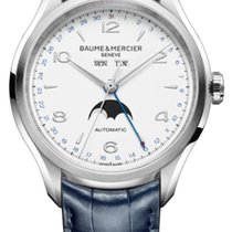 Baume & Mercier Steel 43mm Automatic MOA10450 new United Kingdom, Wilmslow
