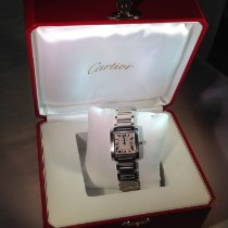 Cartier Tank Française Steel 25mm White Roman numerals United States of America, Connecticut, Fairfield