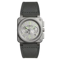 Bell & Ross BR 03-94 Chronographe new Automatic Chronograph Watch with original box and original papers BR0394GRST/SCA
