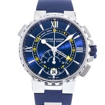 Ulysse Nardin Marine Regatta Steel 44mm Blue United States of America, Georgia, Atlanta
