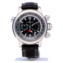 Jaeger-LeCoultre Master Compressor Extreme World Chronograph Acero 46.3mm Negro Árabes