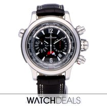Jaeger-LeCoultre Master Compressor Extreme World Chronograph Steel 46.3mm Black Arabic numerals
