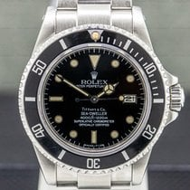 Rolex Sea-Dweller Steel 40mm Black Arabic numerals