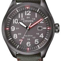 Citizen Steel 43mm Quartz AW5005-39H new