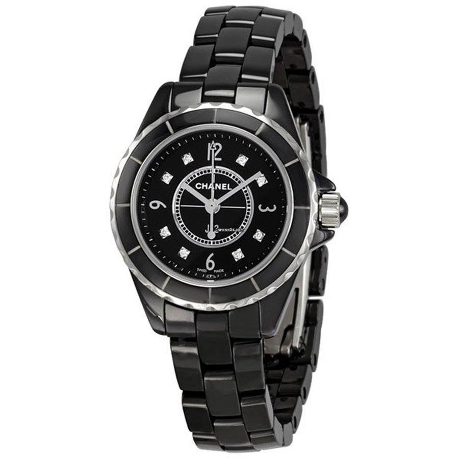 Chanel H2569 J12 Black Ceramic Diamonds Watch