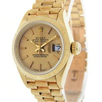 Rolex Lady-Datejust 69278 God Gult guld 28mm Automatisk