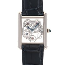 Cartier Tank Louis Cartier White gold 39.2mm Transparent United States of America, California, Beverly Hills