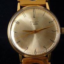 Poljot Gold/Steel 35mm Manual winding pre-owned