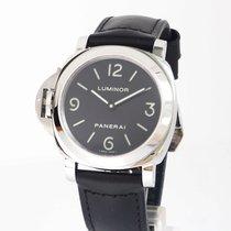 Panerai Luminor Base nieuw 2018 Handopwind Horloge met originele doos en originele papieren PAM 00219