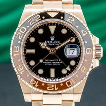 Rolex GMT-Master II Rose gold 40mm Black Arabic numerals