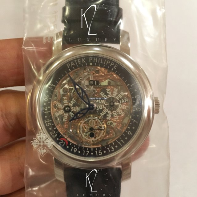 Patek Philippe 5104p Skeleton Minute Repeater For Price On