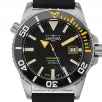 Davosa Argonautic Stahl Keramik Automatik Armband Kautschuk...