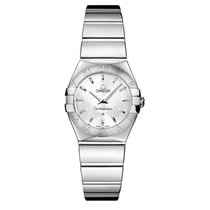 Omega Constellation Quartz Acier 24mm Argent France, Paris