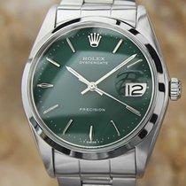 Rolex Vintage 1970 Rolex Oysterdate Precision Mens 6694 Manual...