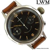 Leonidas Chronograph Italian Military Pilot very rare 1950