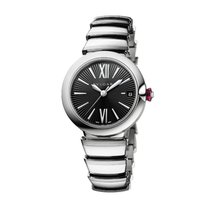 Bulgari Lucea 33mm Black Dial