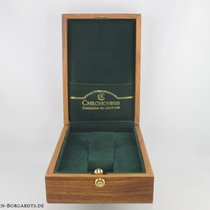 Chronoswiss Holz Box  mit Überkarton Maße 16 x 11 x 5cm
