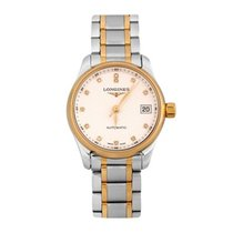 Longines Master Collection L2.128.5.77.7 Longines MASTER Acciaio Oro Argento Diamanti новые