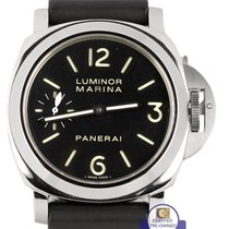 Panerai 2011  PAM 111 Luminor Marina Manual Wind Black Rubber...