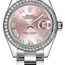 Rolex Lady-Datejust Staal 28mm