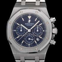 Audemars Piguet 25860st Royal Oak Chronograph blue dial, full set