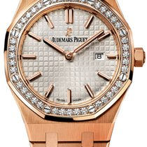 Audemars Piguet Royal Oak Lady new Quartz Watch with original box and original papers 67651or.zz.1261or.01