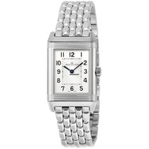 Jaeger-LeCoultre Reverso Classic Small Duetto Acero 34mm Árabes