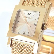 Gucci Žluté zlato 23mm Quartz YA7900 nové
