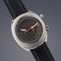 Omega Chronostop 'Drivers' watch steel manual chronograph...