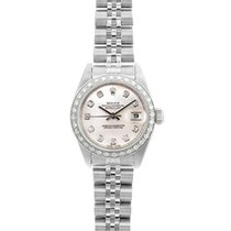 Rolex Lady-Datejust pre-owned 26mm Silver Steel
