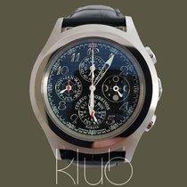 Cuervo y Sobrinos Robusto Steel 43mm Black Arabic numerals