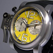 Graham Chronofighter Oversize Steel 46mm Yellow United States of America, California, Los Angeles