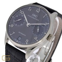 IWC IW500106 White gold 2014 Portuguese Automatic 42mm pre-owned