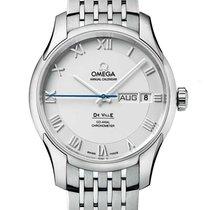 Omega De Ville Co-Axial Steel Silver