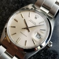 Rolex Oyster Precision pre-owned 35mm Steel
