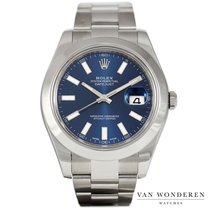 Rolex Datejust II Steel 41mm Blue