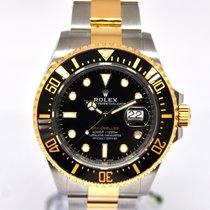 Rolex Sea-Dweller Acero y oro 43mm Negro Sin cifras España, Marbella