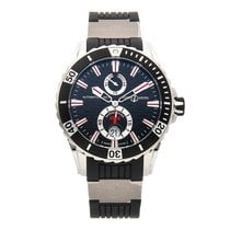 Ulysse Nardin Diver Chronometer Steel 40mm Black No numerals United States of America, Pennsylvania, Bala Cynwyd